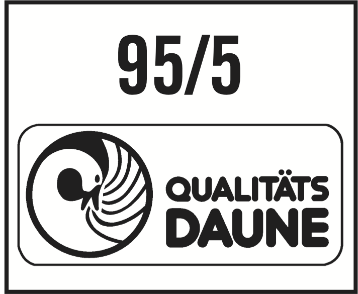 95/5 Qualitätsdaune