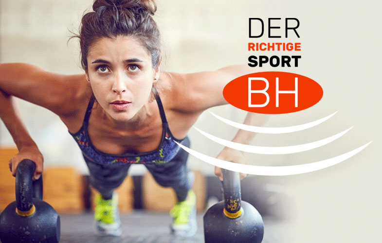 Sport BH auswahl